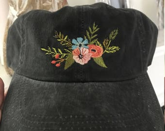 The Eleanor Baseball Hat   Faded Black