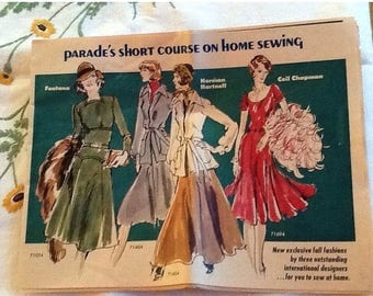 Sale Parade's Short Course on Home Sewing Magazine
