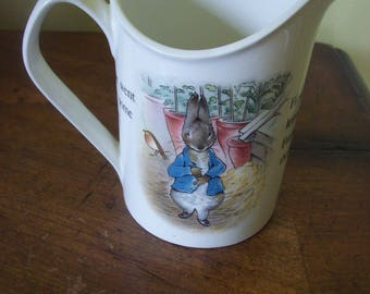 Wedgwood Peter Rabbit Creamer Made in England