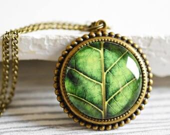 Spring Bronze Necklace