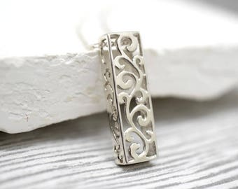 925 sterling silver necklace ORNAMENT