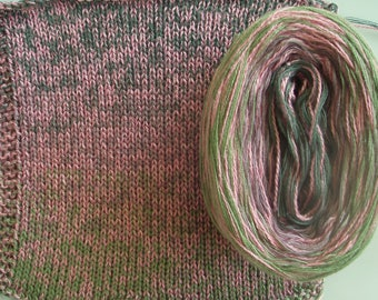 LAUREL SILK Medley II - Color Changing Cotton/Silk yarn - 320 yards/100 gr - Sport Weight