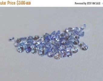 SALE Tanzanite Melee, 2mm tanzanite, tanzania gemstones, melee gemstones for eternity rings, melee for gemstone projects, tanzanite