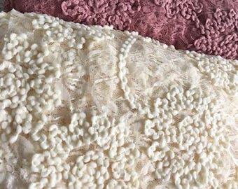 2 yards Chicaboo Blossom Dream Posing Fabric. You choose color. Ruffle Rose Newborn Posing Beanbag Fabric Drop. Newborn Posing fabric RTS