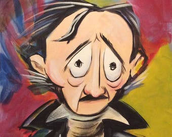 Mr Edgar A Poe of Baltimore (2017) by Mark Redfield