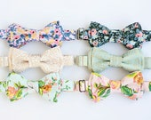 Bow Tie, Bow Ties, Boys Bow Ties, Baby Bow Ties, Bowtie, Bowties, Ring Bearer, Wedding Bow Ties, Rifle Paper Co - Menagerie Collection