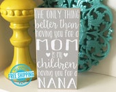 Personalized Grandma Sign- Mother's Day Gift, Grandma Gift, Nana Gift, Mimi Gift, Gift for Grandma, Mother's Day Gift for Grandma, Nana Sign