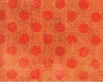 Moda - Grunge Hits the Spot - Papaya/Orange - Fabric by the Yard 30149-41