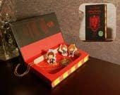 Hollow Book Safe - Harry Potter and The Philosopher's Stone, Special 20th Anniversary Gryffindor Edition - Secret Book Safe