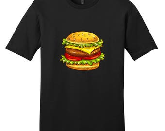 Cheeseburger - Funny Junk Food T-Shirt