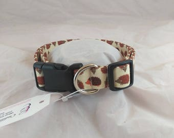 Hedgehog Dog Collar, Cat Collar, Funky Collar,  Summer Dog Collars, Les Fleurs Dog Collar,Collier de chien, collar de perro,