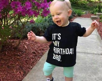 Birthday Shirt, Kids Birthday Tee, Birthday Tee, Boys Birthday, Girls Birthday, Bday Shirt, Trendy Bday Tee, Toddler Birthday Shirt, Bday