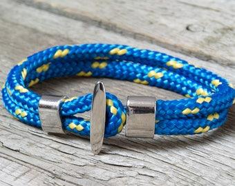 SAILOR bracelet, men bracelet, mens rope bracelet, MEN bracelet, man accessories, gift for him, gift ideas, men jewelry, gift for boyfriend