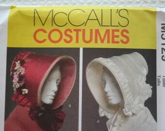 McCall's Costumes Bonnet Historical Bonnet Hat Victorian Ladies Bonnet