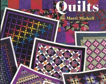 2000 American School 101 Nine Patch Quilts by Marti Michell Softcover Book Quilting Sewing Patterns