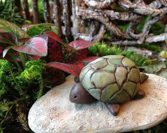 Miniature Green Turtle for the Fairy Garden