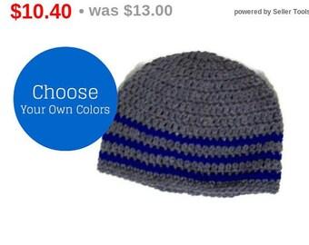 Men's Beanie Cap Custom Made Your Choice Of Color