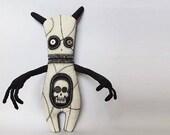 Voodoo Doll Macabre Oddity Art Doll