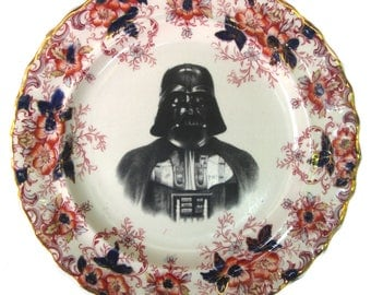 Darth Portrait Plate 7.65""