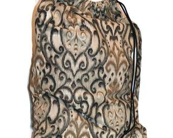 Laundry Bag, Duffle Bag, Storage Bag, Clothing Bag, Designer Laundry Bag, Grey Laundry Bag, Extra Large Laundry Bag. Brown Laundry Bag