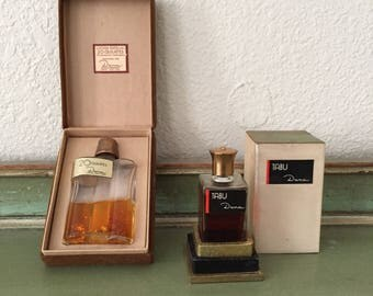 Rare vintage 1950s TABU DANA 20K perfume lot