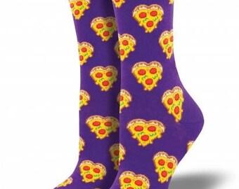 Women's Love Me To Pizza Socks