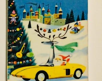 Santa Driving a Ford
