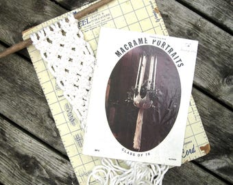 Macrame Plant Hanger Projects - Macrame Pot Hanger Patterns - Rope Hangers
