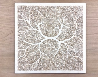 Wood Art 1 - Tree of Life Wall Art Decor Gift from Son to Mom Mother in Law Gifts Anniversary Gifts, Gift From Aunt Fiance Gift for Him