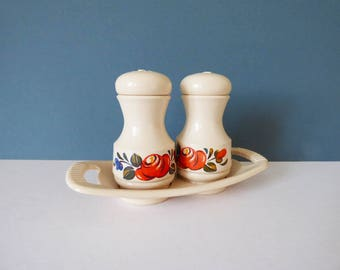 1970s Vintage Emsa cruet salt and pepper set