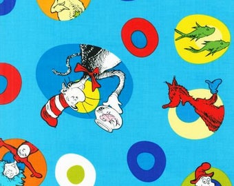Celebration by  Dr.Seuss 1 Yard Fabric