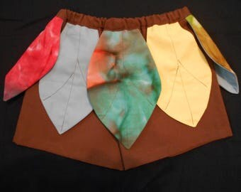 Maui Costume shorts size infant thru 5/6 years toddler little boy infant
