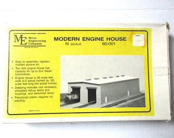 Vintage Modern Engine House #60-001 Kit