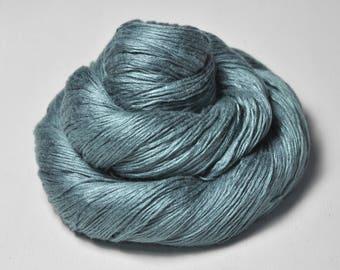 Rain in a graveyard - Fleece Silk Lace Yarn - LIMITED EDITION