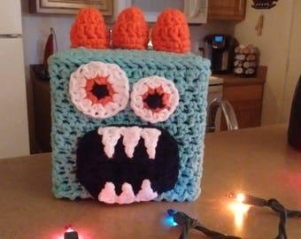 Crochet Monster Toilet Tissue Cover for Your Bathroom