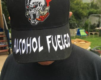 Hat cap vintage scull