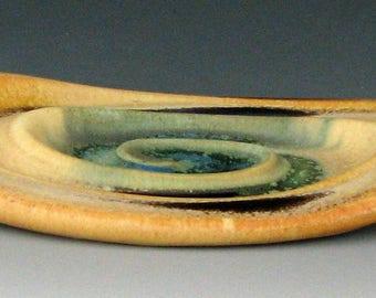 CERAMIC SOAP DISH #15 - Porcelain Soap Dish - Ceramic Soap Holder - Bar Soap Dish - Soap Saver - Pottery Soap Dish - Handmade Soap Dish