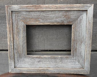 8x10 Barn Wood Rustic Handcrafted Handmade Barn Board Picture Frames Distressed Weathered