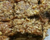 Low Gluten Seasonal Persimmon Heavenly Bars* Set of 8