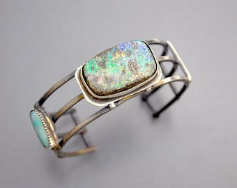 Strappy Cuff with Opals