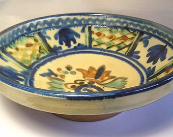 A Superior HP 20th Century Folk Pottery Bowl Z29