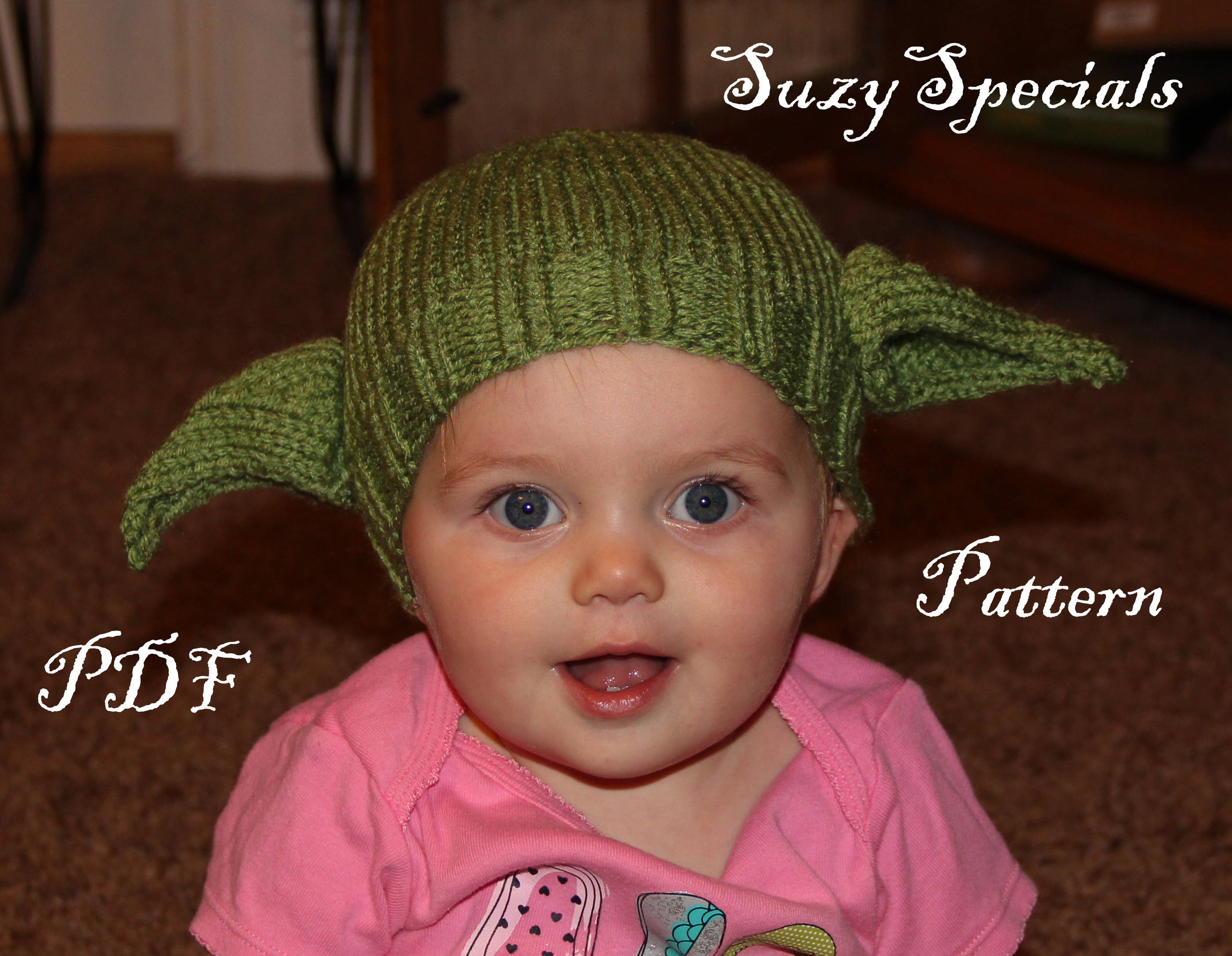 Awesome Knit Yoda Hat Pattern Gift - Sewing Pattern for Wedding ...