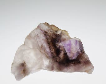 AURALITE-23 Hand Cut Unpolished Slab, Metallic Inclusions, Meditation, Reiki - Rare Gem - A+++ CANADA #1 -Therapeutic Energy Stone