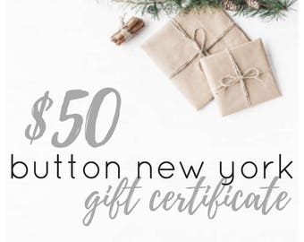 Gift Certificate, Last minute gift, the perfect gift, gift card