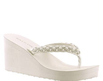 S A L E Wedding Shoes Wedge Wedding Shoes Wedges-Low