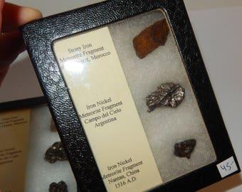Three Meteorites