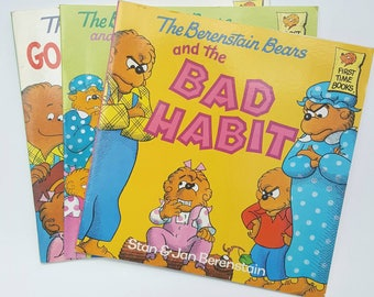 Set of 3 Berenstain Bears books