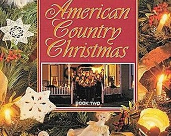 American Country Christmas Book 2 --- Craft Pattern Book