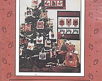Christmas Penstitch Ornaments II - Ornaments, Wall Hanging Patterns