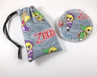 Menstrual Cup Bag Zelda